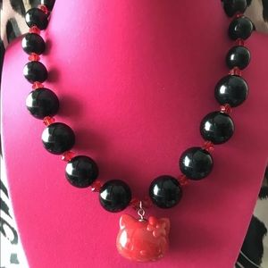 Tarina Tarantino Hello Kitty Sanrio Bead Necklace